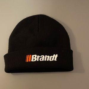 Brandt toque/beannie. Colour: black.Simple & clean